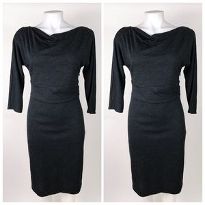 Ann Taylor Knit 3/4 Sleeve Shift Dress